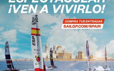 SAILGP Cádiz, 9 y 10 octubre 2021